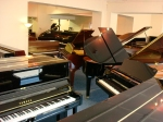 Piano Gallery showrooms Oxfordshire
