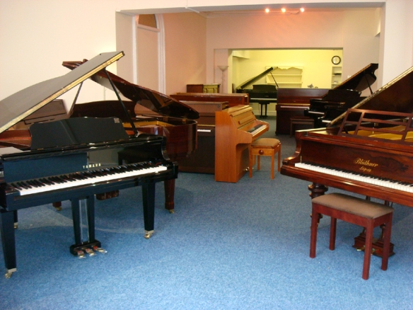 Piano Gallery Showrooms Faringdon